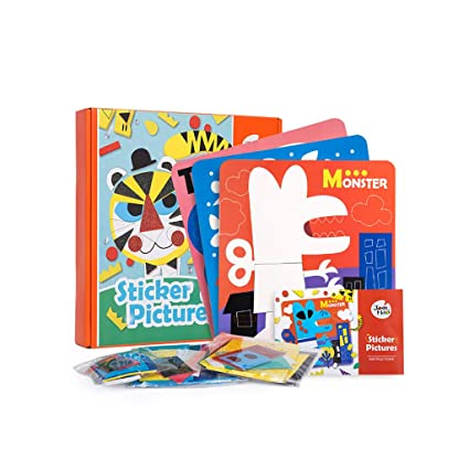 Amazon Com Whyqz Montessori Eva Foam Sticker Kids Diy Art Craft
