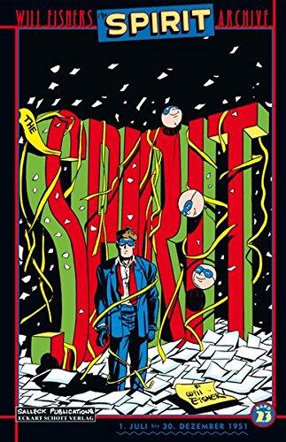 Will Eisners Spirit Archive, Band 23, Juli - Dezember 1951