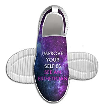 Improve Your Selfies See An Esthetician Lightweight Breathable Casual Running Shoes Fashion Sneakers Shoes