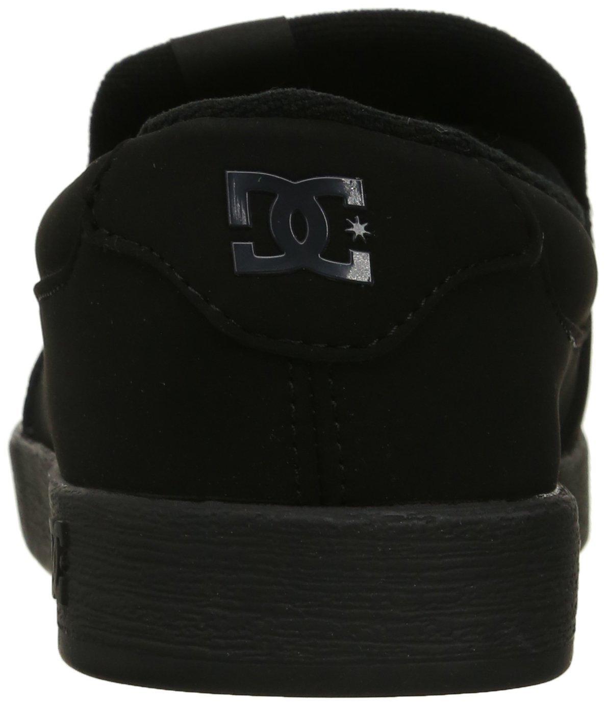 DC Men's Villain TX Slip Skate Shoe, Black Print, 10 D D US by DC (Image #2)
