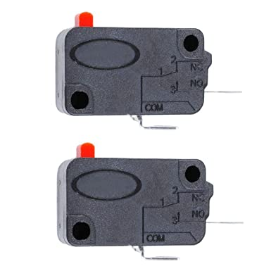 MASUNN 2Pcs Microondas Horno Puerta Micro Interruptor Para Lg Ge ...