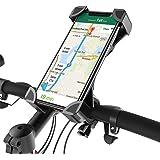 Fantigo Handyhalterung Fahrrad, Handyhalter Fahrrad Motorrad Universal 360°Drehbarem telefonhalter Fahrrad Fahrrad-Lenker Handyhalter Für for IOS Android GPS Other Devices(4.0-6.5 Zoll) 2018