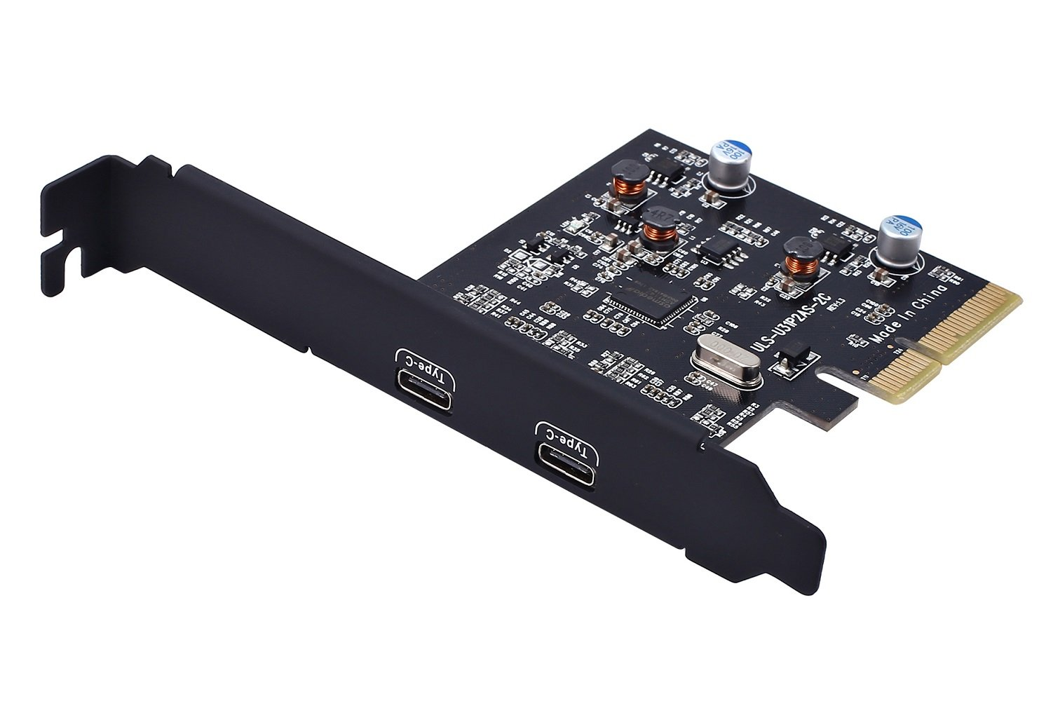 PCI-E PCI Express 4X to USB 3.1 Gen 2 (10 Gbps) 2-Port Type