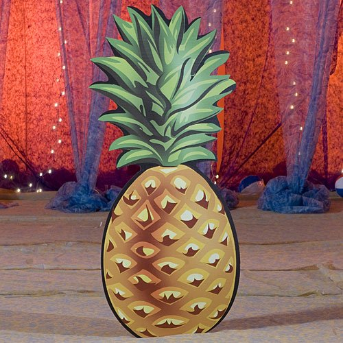 Tropical Luau Summer Pineapple Standee Standup Photo Booth Prop Background Backdrop Party Decoration Decor Scene Setter Cardboard ()