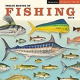 Twelve Months of Fishing Wall Calendar by Ziga Media