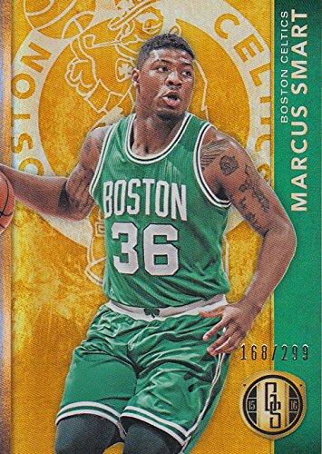 2015-16 Panini Gold Standard Boston Celtics Basketball Card #102 Marcus (Celtic Card)