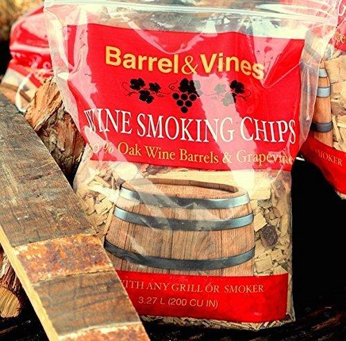 Barrel & Vines Wine Smoking Chips from California Vineyards