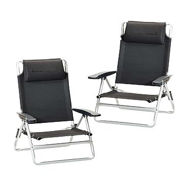 ISABELLA Par de sillas de playa: Amazon.es: Jardín