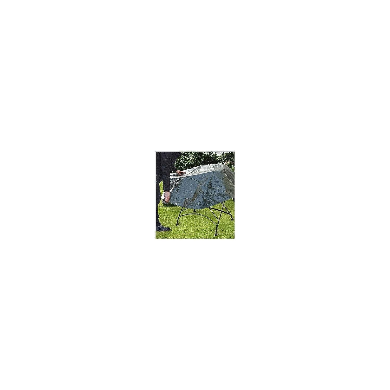 schwere Ausf/ührung 3 m Durchmesser PolyTarp Holz-Abdeckplane RUND gr/ün