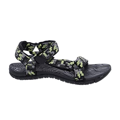 03c3f43b9 Teva Digital Camo Grey Lime Youth s Hurricane 3 size UK3 flip flops   Amazon.co.uk  Shoes   Bags
