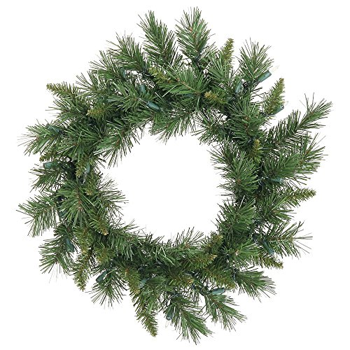 Vickerman A877324 Unlit Flocked Purple Pencil Artificial Christmas Tree, 5.5' x - Christmas Artificial Wreath 22