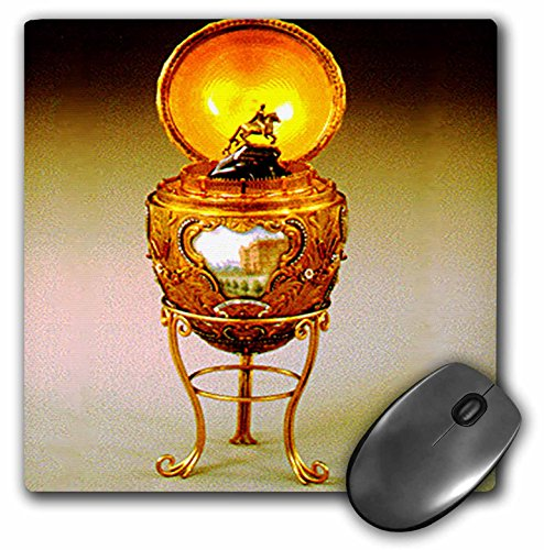 [3dRose LLC 8 x 8 x 0.25 Inches Picture Faberge Egg Peter the Great Mouse Pad (mp_590_1)] (Rose Faberge Egg)