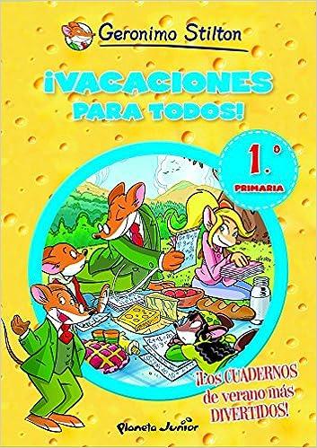cuadernillo de vacaciones para  primaria  Gerónimo Stilton