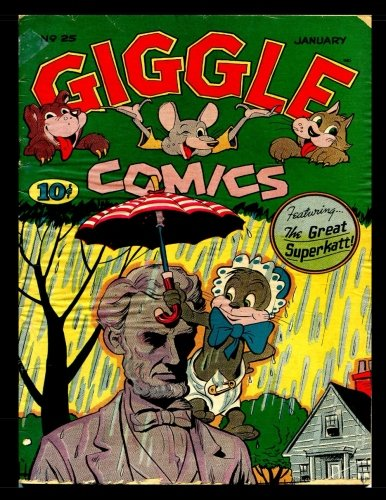Giggle Comics #25: Golden Age Funny Animal Comics 1946