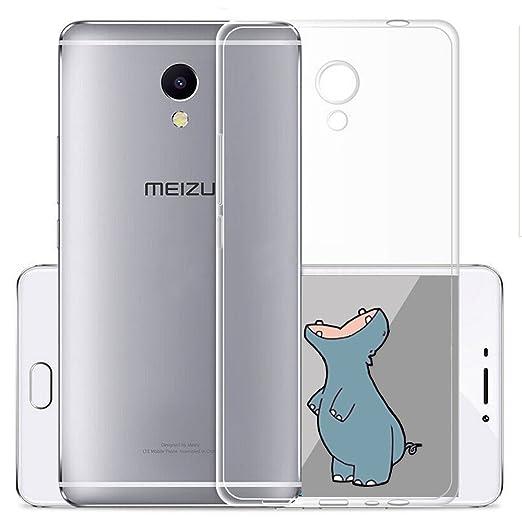 4 opinioni per Cover Per Meizu M5S 5,2 pollici,Sunrive® Custodia Case in molle Trasparente TPU