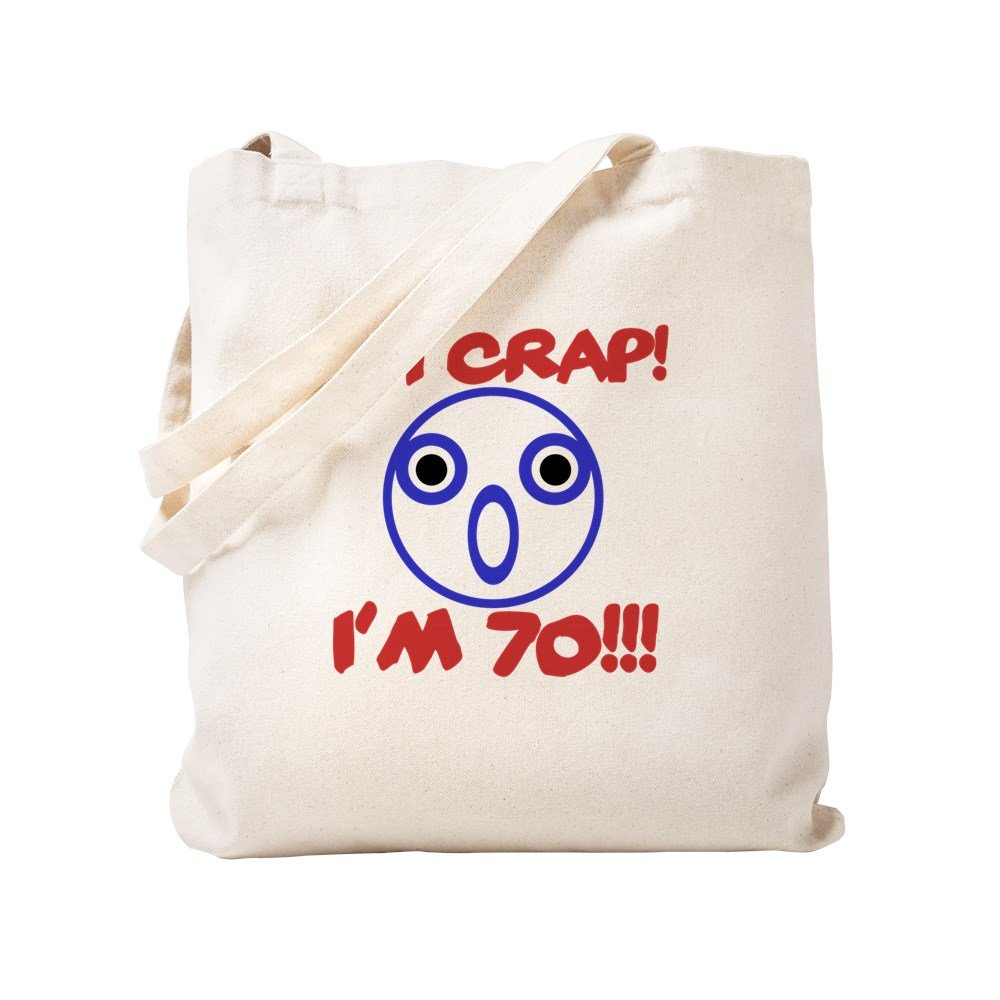 CafePress – Funny 70th Birthday – ナチュラルキャンバストートバッグ、布ショッピングバッグ S ベージュ 1546711115DECC2 B0773V3N87 S