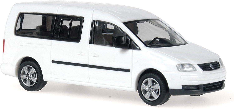 Rietze 11702/Volkswagen Caddy 2007/Maxi Bus Modell Wei/ß