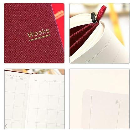 Amazon.com: Planificador semanal de bolsillo, recordatorio ...