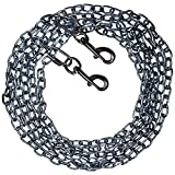 Beast-Master Straight Link Tie-Out Chain with Bolt Snaps Medium Dogs 35 LBS (30)