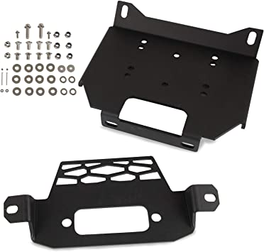 Polaris Turbo /& General Winch Mounting Plate
