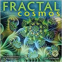 Fractal 2020 Christmas Gift Fractal Cosmos 2020 Wall Calendar: The Mathematical Art of Alice