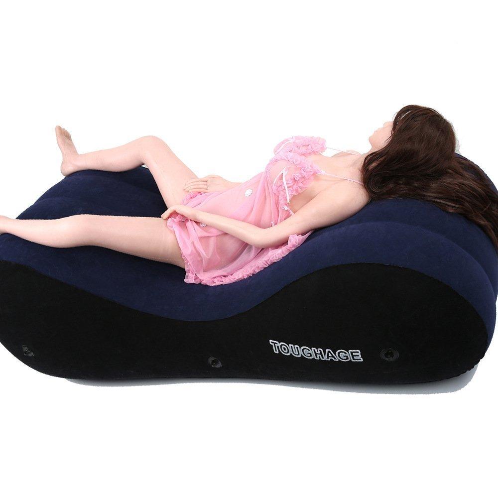 Amazon.com: Sexo cojín cama juego inflable de posición ayuda ...