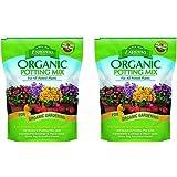 Espoma AP8 Organic Dgxdi Potting Mix, 8 Quart (2 Pack)
