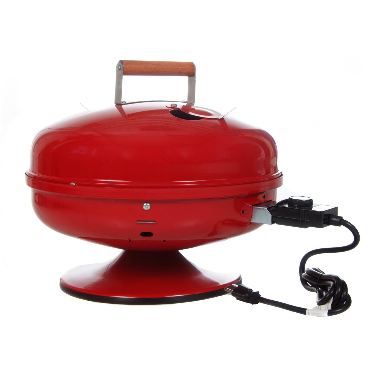 Meco Electric Grills - 2120 Lock-n-go Portable Electric Bbq Grill - Red by Meco