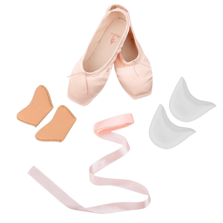 Skyrocket Chaussures de Ballet Classique Pointe Satin Ballet Chaussure de Danse avec...