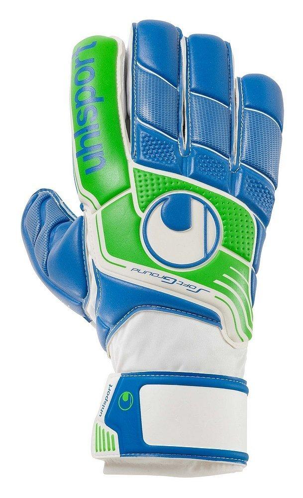 Uhlsport Fangmaschineソフトブルーサッカーゴールキーパーグローブ(パシフィックブルー/蛍光グリーン) B00OIMOF3E 10
