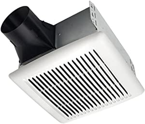 Broan InVent Series Single-Speed Fan, Ceiling Room-Side Installation Bathroom Exhaust Fan, ENERGY STAR Certified, 0.8 Sones, 80 CFM