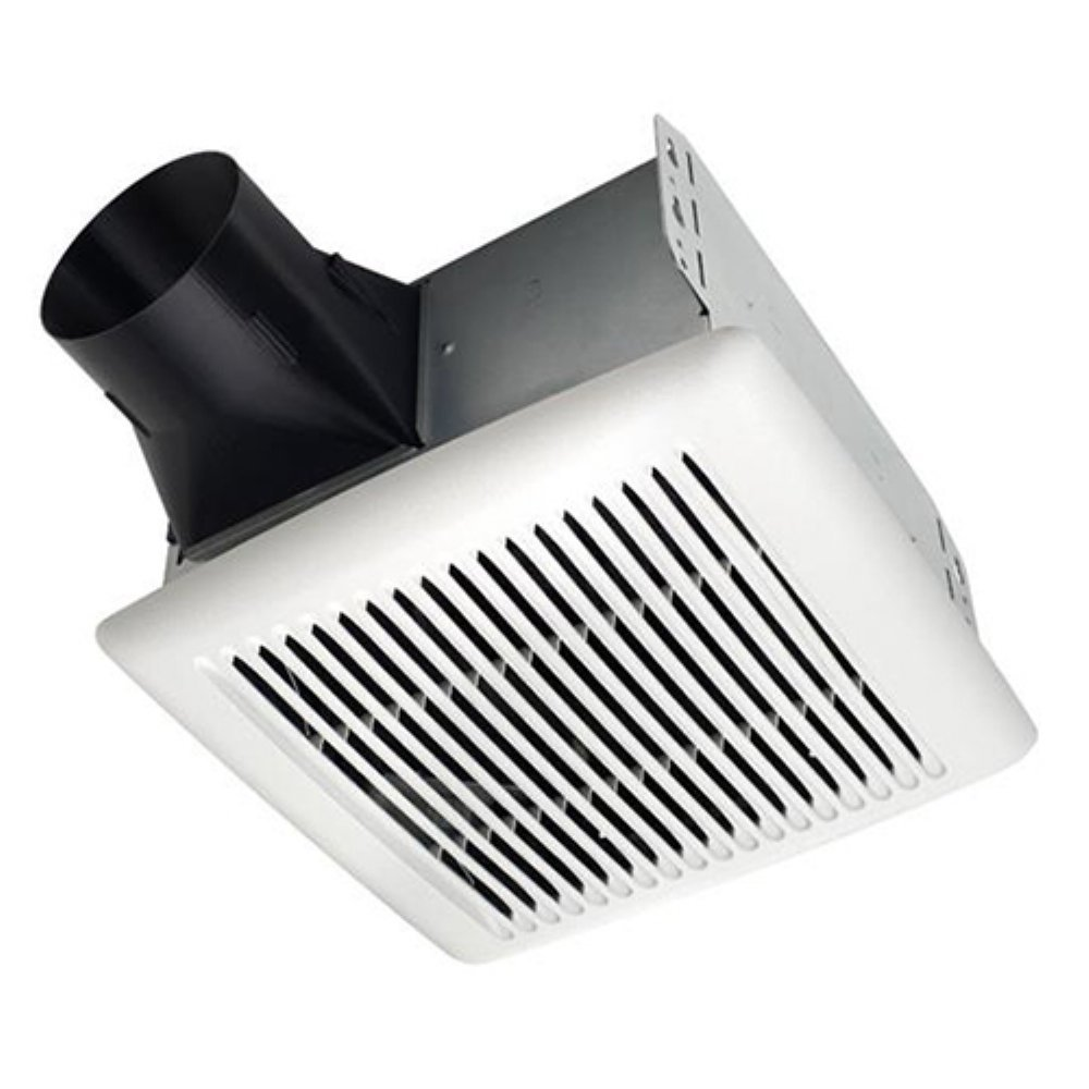 Broan AE110 Invent Energy Star Qualified Single-Speed Ventilation Fan, 110 CFM 1.0 Sones