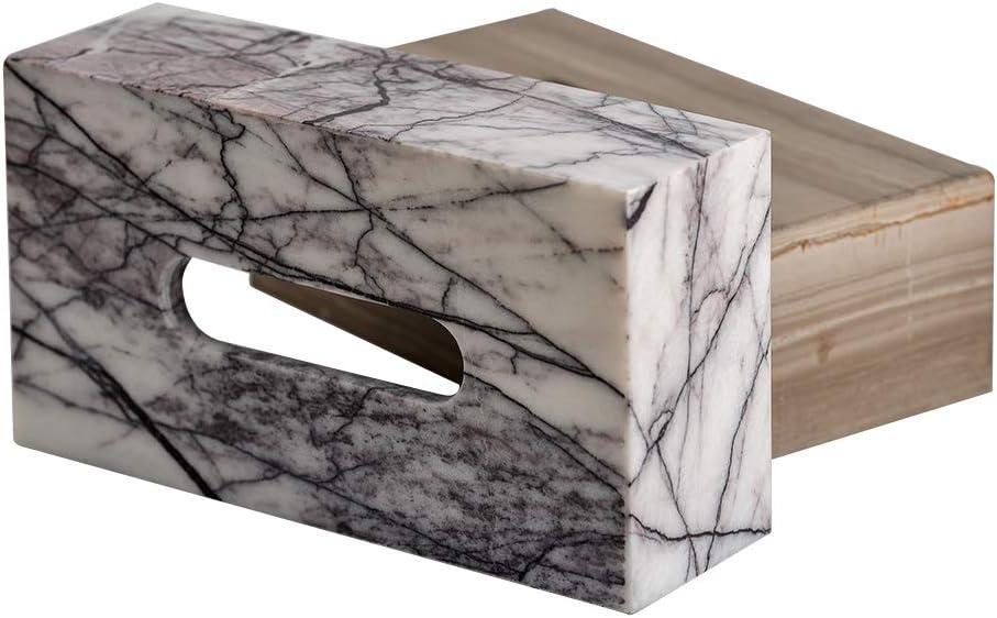 sapphire YCD Zrian Marble Paper Facial Tissue Box Holder Tissue box