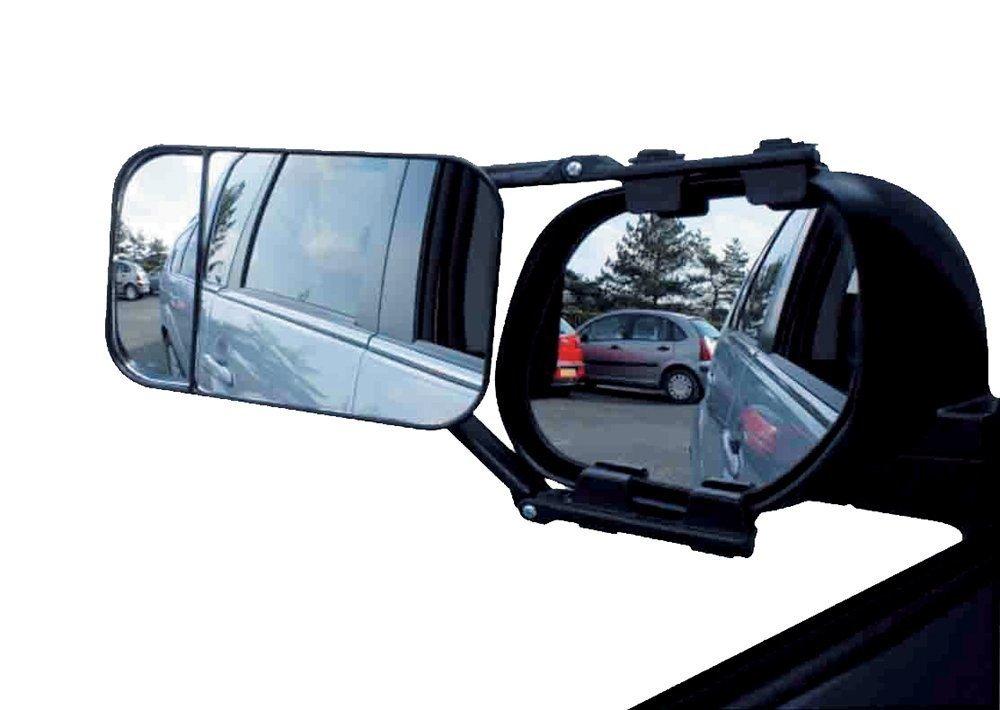 DWT-Germany 100058 Caravanspiegel Wohnwagenspiegel Caravan Spiegel Clip on R/ückspiegel