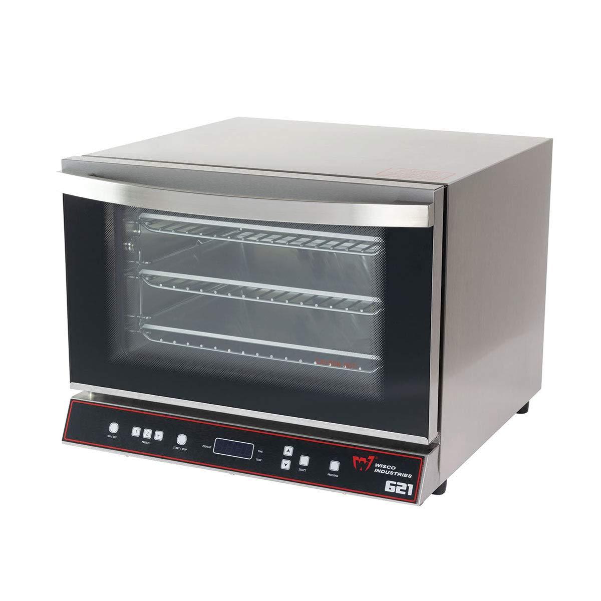 Wisco 621 Digital Commercial Countertop Convection Oven