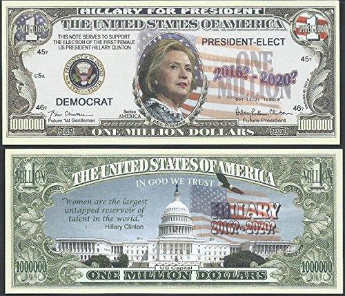 amazon com hillary rodham clinton for president 2016 million