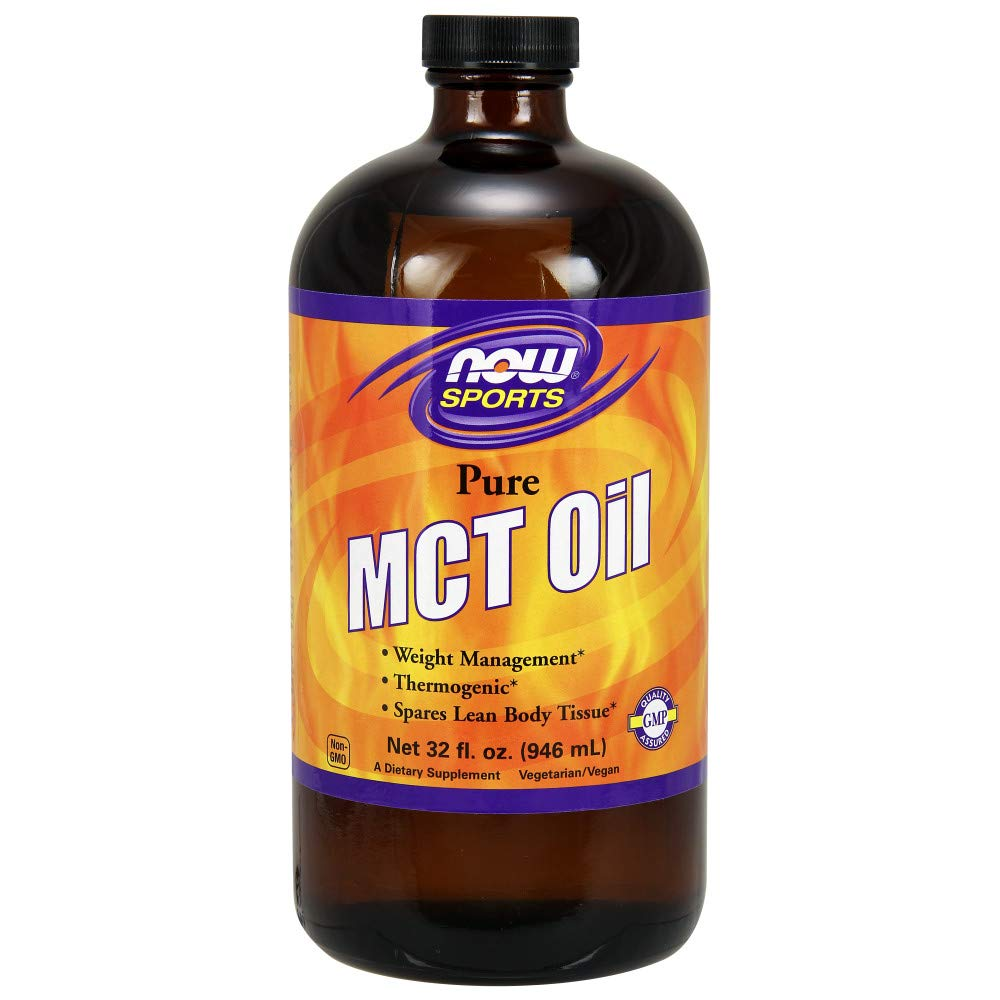 NOW  MCT 100% Oil, 32-Ounce (Keto Friendly)