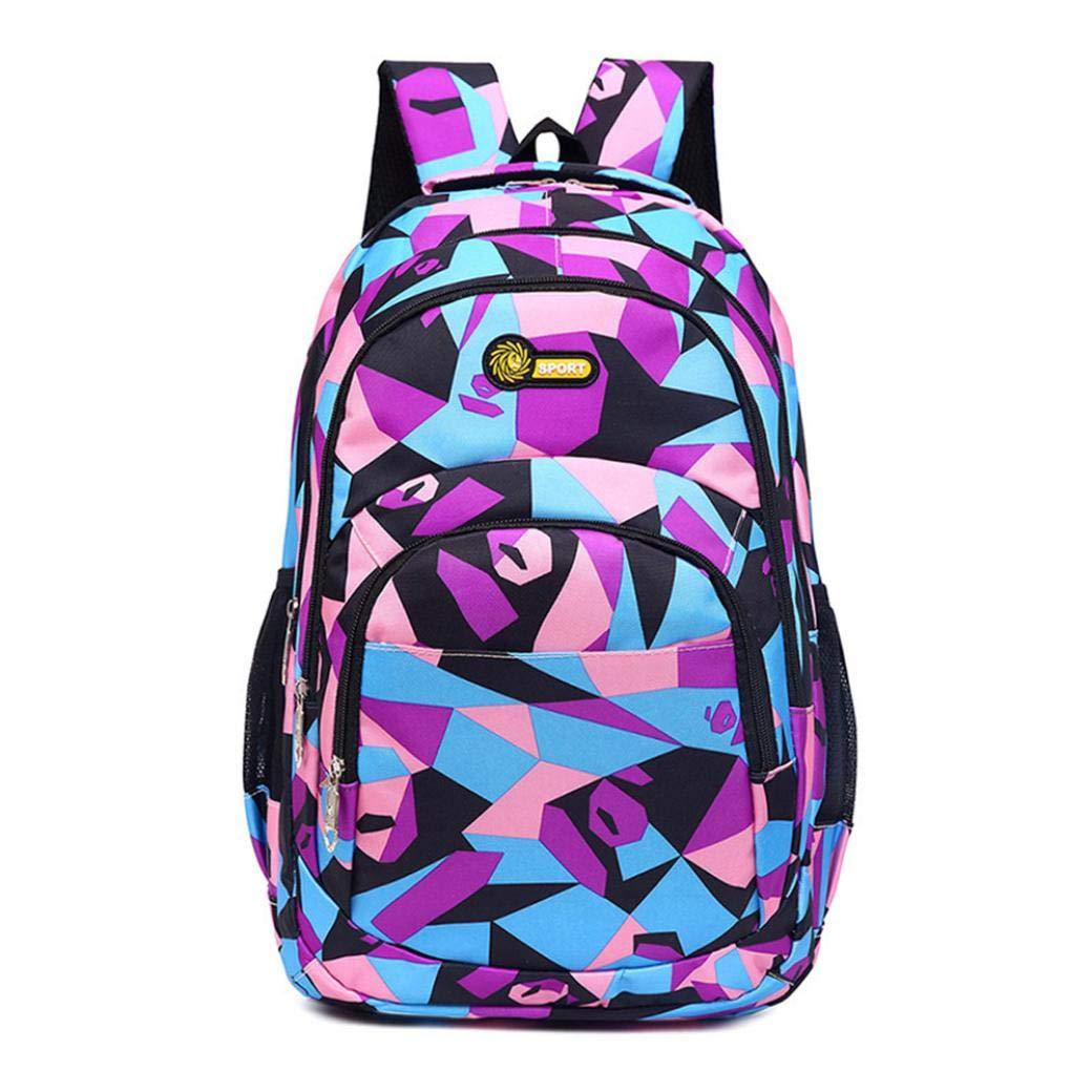 d9a35b9fc Adolescente Mochilas Escolares Juveniles Chicas Chicos Estudiantes  Camuflaje Grande Bolsas de Escolar