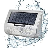 EXTENDED FAMILY Solar Lights 9 LED Wireless Waterproof Motion Sensor, Outdoor Light for Patio, Deck, Yard, Garden with Motion Activated Auto On/Off