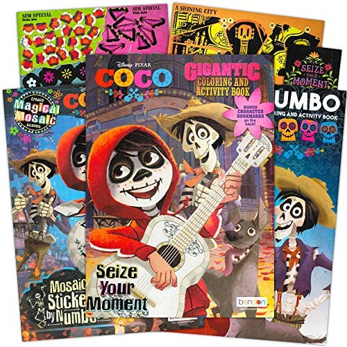 Disney Pixar Coco Coloring And Activity Sticker Book Super Set Bundle Includes 3 Deluxe Coco Books Buy Online At Best Price In Uae Amazon Ae
