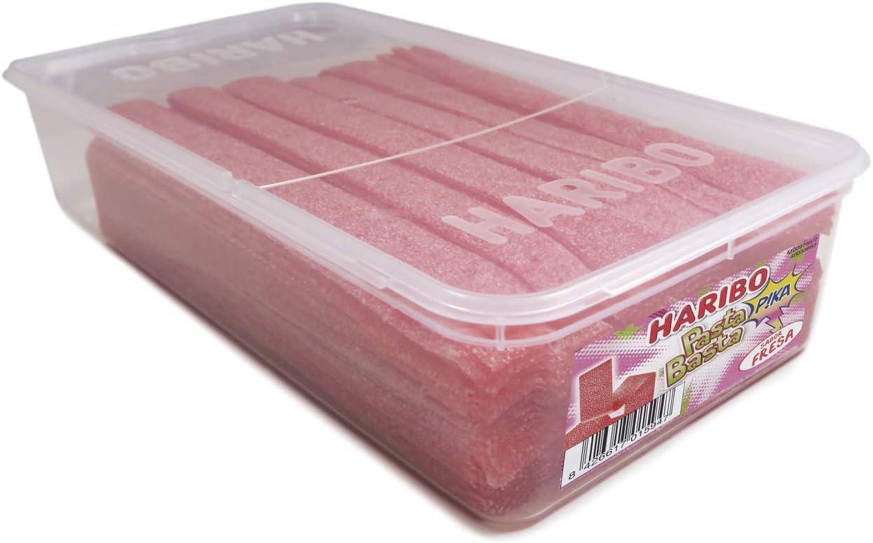 Haribo - Pasta Basta Fresa - Geles dulces - 200 unidades