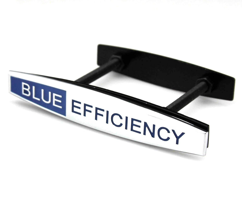 XuXuauto 1PC Fender Emblem Emblema Azul de eficacia para la Rejilla Delantera del Coche para Mercedes Benz