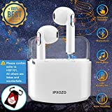 Wireless Earbuds,Bluetooth Earbuds Stereo Wireless Headphones Mini Wireless Earbuds with Microphone in Ear Earphones Sports Earpieces Compatible iPhone X 8 Plus 7 6 iOS Samsung Android Phones
