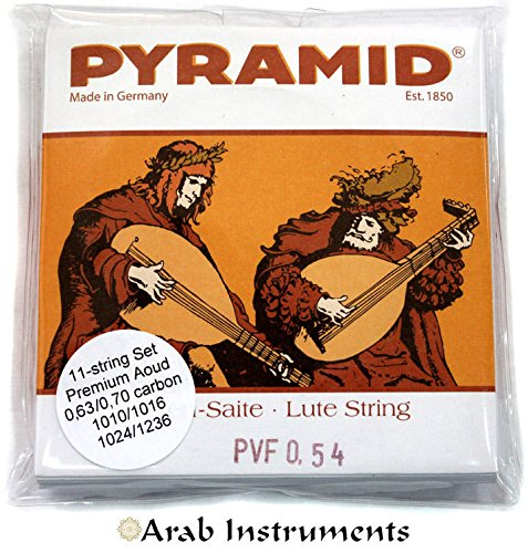 Pyramid Oud Premium Set - 11 strings (Made in Germany) by Pyramid