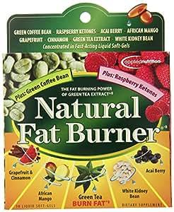 Applied Nutrition Natural Fat Burner, 30 Liquid Soft-Gels