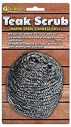 Star Brite Teak Scrub, Stainless Steel Marine Grade (088450)