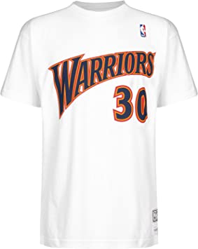 Camiseta manga corta Mitchell & Ness de Stephen Curry en Golden State Warriors Talla S