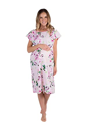 6c0bb8a36a2 Baby Be Mine Gownies - Labor   Delivery Maternity Hospital Gown Maternity