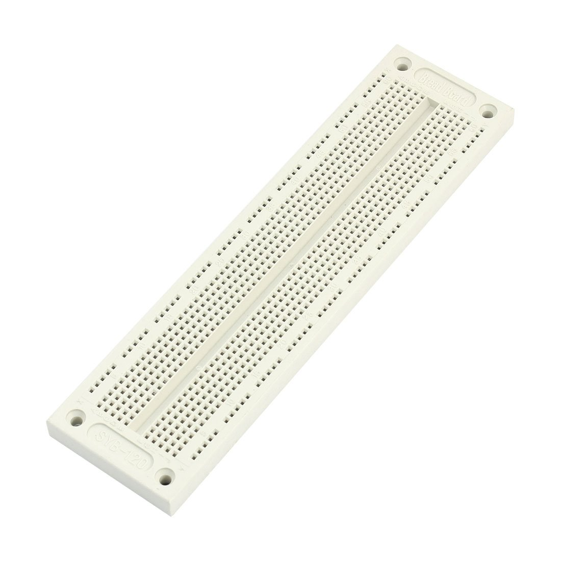 sourcingmap® White 700 Tiepoint Test Develop DIY PCB Solderless Bread Board SYB-120 a14060500ux0518