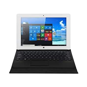 iRULU Walknbook 10 1 Inch Tablet PC, 32GB Hybrid Laptop, 2-in-1 Tablet,  Microsoft Windows 10 OS, Quad Core, 1280 * 800 Resolution, Detachable  Keyboard